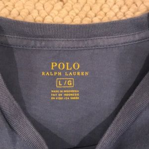 Polo by Ralph Lauren Shirts - Polo 100% Cotton front pocket T-shirt